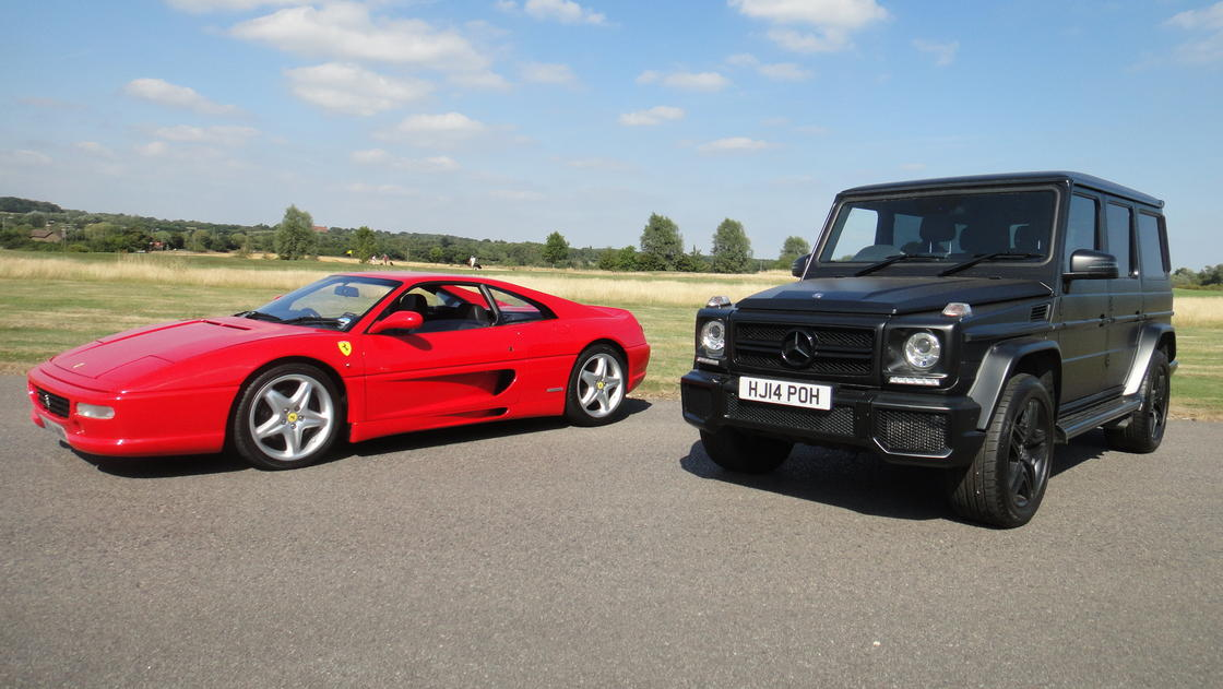 Image for Beauty and The Beast! F355 & G63 AMG